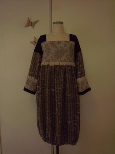 道化師のチュニックドレス